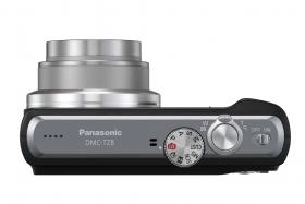 Panasonic Lumix DMC-TZ8 digital camera top plate