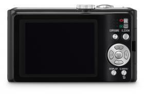 Panasonic Lumix DMC-TZ8 digital camera back plate and large screen
