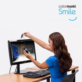 Colormunki Smile best4reviews review image of the device being used