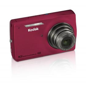 The Kodak M1093 IS has an attractive yet squared off design