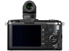 Olympus Pen E-P2 with rear screen and viewfinder