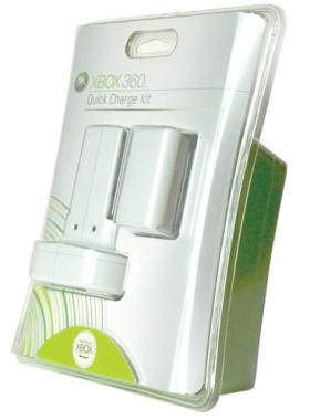 Microsoft Quick Charge Kit for Xbox 360 packaging