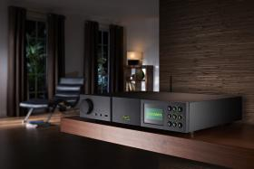 "Naim SuperUniti viewed in a ""home"" setting."