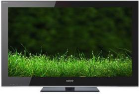 Sony Bravia KDL 46NX703 from the front showing an image.