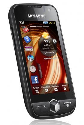 Samsung Jet/S8000 smartphone handset